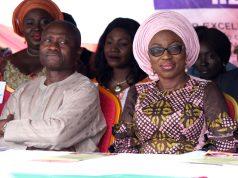 Lagos Health Commissioner, Jide Idris and Bolanle Ambode