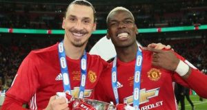 Zlatan and Paul Pogba