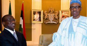 Baru meets Buhari