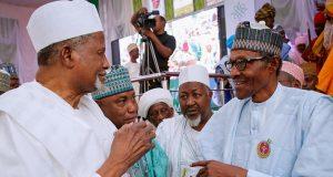 Buhari with APC stakeholders
