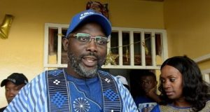George-Weah, Liberia's president-elect
