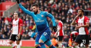 Giroud's rescue goal at Southampton