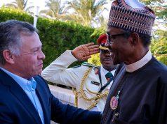 King Abdullah II of Jordan and President Buhari