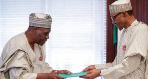 Kingibe presents NIA probe report to Buhari