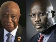 Vice-President Joseph Boakai faces George Weah