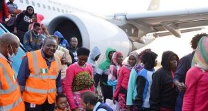 Libyan returnees