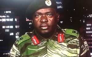 Sibusiso Moyo, the general who became the face of the recent military takeover, is the new foreign minister.