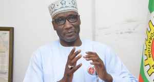 Group General Manager, Crude Oil Marketing Division of the Corporation, Malam Mele Kyari