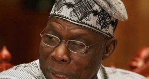 Obasanjo leaves for Liberia