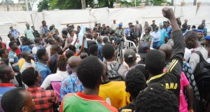 MAPOLY students protest