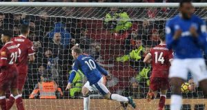 Rooney scored from spot kick