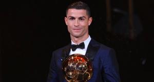 Ronaldo wins 5th Ballon d'Or