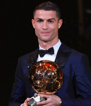 Ronaldo wins 5th Ballon d'Or
