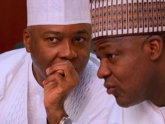 Senate President Bukola Saraki and Speaker House of Reps Yakubu Dogara