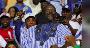 George Weah declared winner of Liberia presidential poll