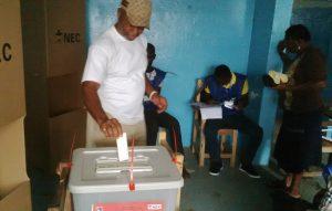 Voting in Liberia election run-off