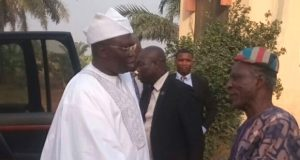 Gani Adams being received in Oyo