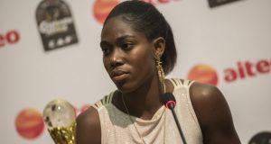 African Female Footballer of the Year, Nigeria's Asisat Oshoala