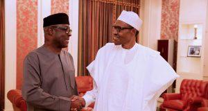 Buhari and Niyi Adebayo
