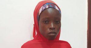 A rescued Chibok-girl, Salami Pugo