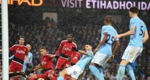 Man City against Watford