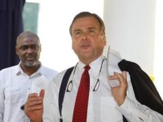 US ambassador to Nigeria, Stuart Symington,