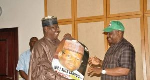 Sule Lamido with Gov. Wike