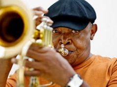 The late Hugh Masekela