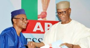 Gov. El-Ruffin submits APC panel reports to John Oyegun