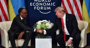 Kagame and Trump