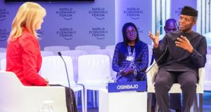 Osinbajo at WEF interaction