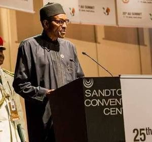 President Buhari speaks at the AU Summit on Terrorism