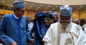 Buhari, Obasanjo and Abdulsalami