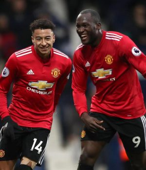 Lingard and Lukaku