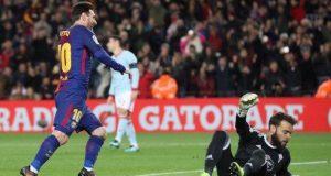 Messi hits Celta Vigo twice