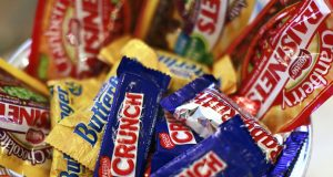 Nestle candy products