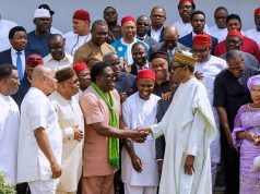 President Buhari with South East APC leaders