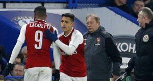 Sanchez in for Lacazette