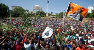 Raila Odinga's supporters
