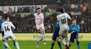 Swansea down Arsenal