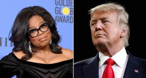 Oprah Winfrey and Donald Trump