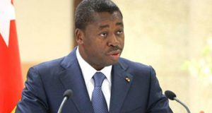 Togo President Faure Gnassingbe