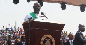 President George Weah inauguration