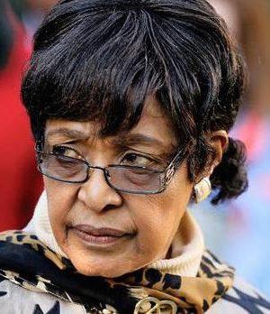 Winnie Madikizela-Mandela,