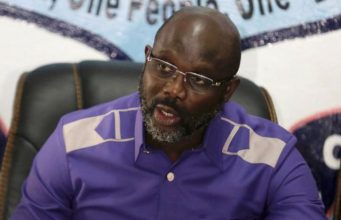 George Weah, incoming Liberian president