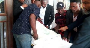 Metuh brought to court in stretcher