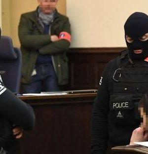 Salah Abdeslam in Belgian court