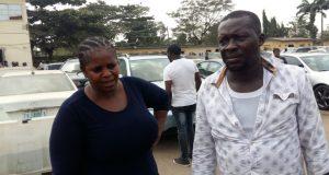 Adeola and Binta Adebayo