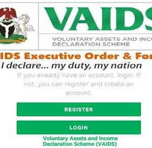 Voluntary Assets and Income Declaration Scheme