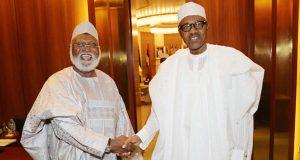 Gen. Abdulsalami Abubakar and President Muhammadu Buhari